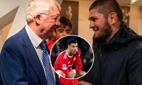 Sir Alex nói gì về Ronaldo khi gặp cựu võ sĩ Khabib?