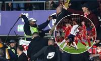 CĐV Hungary đánh nhau với cảnh sát Anh trong trận hòa nhạt trên sân Wembley