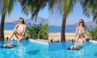 Mỹ nhân gợi cảm nhất nhì VTV tung ảnh bikini khoe dáng nuột nà
