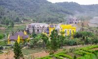 Công trình Hoàng Lê Gia Garden xây trên đất rừng phòng hộ thuộc xã Minh Trí.