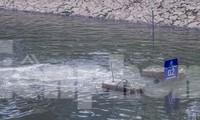 Khu vực đặt 'bảo bối' Nhật làm sạch sông Tô Lịch ra sao sau vụ xả nước Hồ Tây?