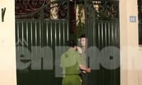 Cận cảnh khám xét nhà riêng Chủ tịch Hà Nội Nguyễn Đức Chung