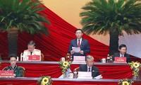 Cận cảnh phiên thảo luận các văn kiện Đại hội XIII của Đảng
