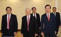 Toàn cảnh phiên khai mạc Hội nghị lần thứ hai BCH Trung ương Đảng khóa XIII