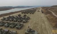 300 xe tăng Hàn Quốc dàn hàng, thị uy sức mạnh
