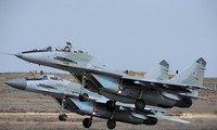 Cận cảnh tiêm kích MiG-29 đọ sức cùng MiG-31BM
