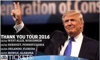 Tổng thống mới đắc cử của Mỹ, ông Donald Trump. Ảnh: Twitter
