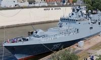 Tàu khu trục tối tân Đô đốc Essen. Ảnh: Tass