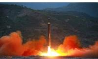 Xuất hiện video Triều Tiên phóng tên lửa Hwasong-12