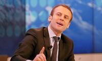 Tổng thống Pháp Emmanuel Macron. Ảnh: AP