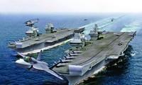 Vừa ra biển, hàng không mẫu hạm Anh đụng ngay tàu ngầm Nga