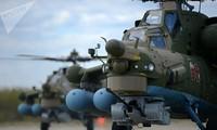 Nga thử trực thăng huấn luyện - chiến đấu Mi-28 UB tại Syria