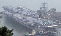 Hàn Quốc, Mỹ bắt đầu tập trận hải quân quy mô lớn