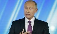 Tổng thống Putin. Ảnh: AP