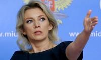 Người phát ngôn Bộ Ngoại giao Nga Maria Zakharova. (Ảnh: Tass)