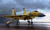 Tiêm kích J-15 của Trung Quốc. Ảnh: Defencs