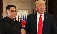 Lãnh đạo hai nước Mỹ, Triều Tiên sẽ gặp lại nhau vào đầu năm 2019. Ảnh: AP