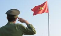 Toàn cảnh Lễ Thượng cờ Giải Tiền Phong Marathon 2021