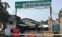 Hà Nội tìm người đến cây xăng gần chợ đầu mối phía Nam