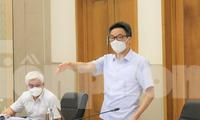 Phó Thủ tướng yêu cầu Bình Dương đẩy nhanh tiêm vắc-xin