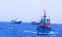 Cấp tốc thông báo tàu, thuyền thoát vùng nguy hiểm của áp thấp nhiệt đới