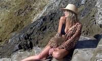 'Biểu tượng gợi cảm' Charlotte McKinney thả dáng sexy đầy khiêu khích