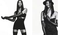 'Báo đen' huyền thoại Naomi Campbell nuột nà, gợi cảm bất ngờ ở tuổi 48