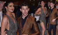 Hoa hậu Priyanka Chopra sexy hết nấc bên chồng trẻ ở Cannes