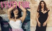 'Tượng đài nhan sắc Ý' Monica Bellucci phô ngực đầy nóng bỏng trên tạp chí