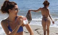 Mỹ nhân sinh nă 1981 là diễn viên nhưng nổi tiếng với body cân đối, đẹp như người mẫu.