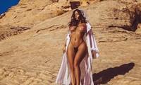 Demi Rose tung ảnh bán nude siêu nóng bỏng, gây 'bão' cộng đồng mạng