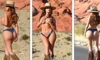 Demi Rose lại cởi đồ, chụp ảnh bán nude khoe đường cong 'chết người'