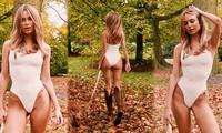 Siêu mẫu áo tắm Kimberley Garner thả dáng quyến rũ đẹp 'từng cm'