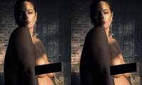 Siêu mẫu ngoại cỡ Ashley Graham tung ảnh khoả thân khi ở cuối thai kỳ