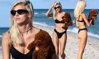 Chiêm ngưỡng vóc dáng đẹp 'từng cm' của siêu mẫu Devon Windsor với bikini