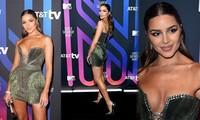 'Mỹ nhân gợi cảm nhất thế giới' Olivia Culpo mặc hở ngực táo bạo đi sự kiện