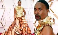 Nam ca sĩ Billy Porter lại mặc váy lên thảm đỏ Oscar 2020