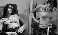 Con gái siêu mẫu của Cindy Crawford 'thả rông' táo bạo