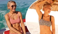 Nữ MC truyền hình Anh tự tin thả dáng tuyệt đẹp với bikini ở tuổi U50