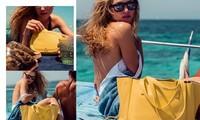 Loạt ảnh áo tắm, không nội y đẹp như mộng giữa nắng gió biển trời của Hana Jirickova