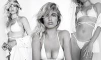 Nàng mẫu cao 1m80 Hailey Clauson gợi cảm gây mê với bikini trắng bé xíu