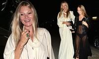 Con gái 18 tuổi của huyền thoại mẫu Kate Moss mặc lộ nội y hớ hênh phản cảm