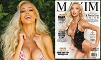 Sao truyền hình Mỹ thả dáng sexy 'nóng rực' trên Maxim