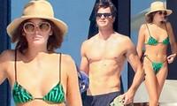 Kaia Gerber mặc bikini nhỏ xíu, lần đầu đi biển cùng người yêu tài tử