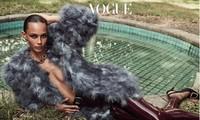 'Siêu mẫu nóng bỏng nhất nước Mỹ' chụp ngực trần trên Vogue