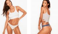 'Thiên thần' Lais Ribeiro khoe đường cong quyến rũ hút hồn với nội y Victoria's Secret