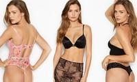 'Thiên thần' Victoria's Secret khoe dáng siêu nóng bỏng với nội y