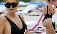 Larsa Pippen cực nóng bỏng với áo tắm ở tuổi 46 gây ngưỡng mộ