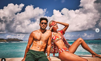 Devon Windsor mặc bikini thả dáng quyến rũ ngất ngây bên chồng