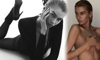'Thiên thần nội y' Stella Maxwell 'thả rông' vòng một quảng cáo trang sức